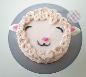 Новогодний торт 2015 Овца