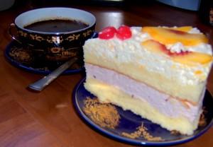 Крем из творога и сливок для бисквитного торта-шаг 1
