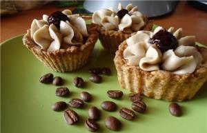 Кофейные пирожные-корзиночки «Жокей»