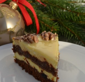Новогодний торт с творогом Сказочная ночь-шаг 1