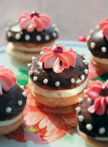 Бисквитные пирожные Буше