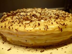Медовый блинный торт-шаг 1
