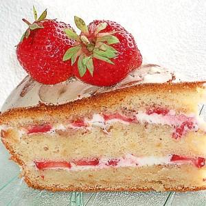 Творожный крем с орехами и ягодами-шаг 1
