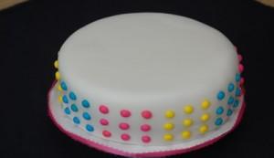 Торт из мастики «Ленивый»