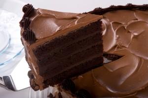 Шоколадный крем для бисквитного торта-шаг 1