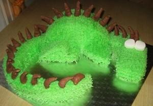Детский торт Дракон-шаг 4