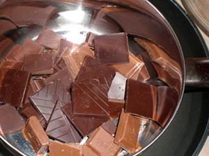 Украшения из шоколада Шоколадная елочка – мастер-класс-шаг 4