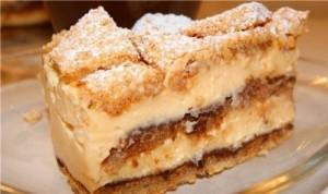 Ореховый крем для тортов