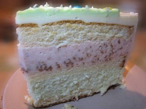 Новогодний торт Елочка с творожным суфле-шаг 6