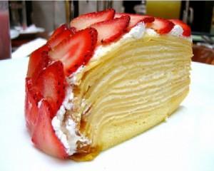 Блинный сметанный торт-шаг 1