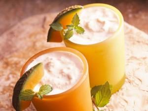 Йогуртовый крем с дыней – полезно и вкусно!