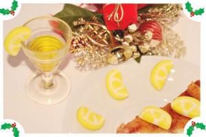 Украшения из мастики – лимон. Мастер-класс-шаг 4