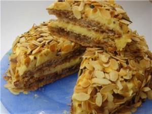 Миндальный торт в мультиварке-шаг 1