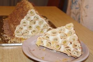Торт Монастырская изба с ананасами быстрого приготовления-шаг 1