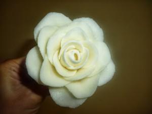 Роза из мастики для свадебного торта. Мастер-класс