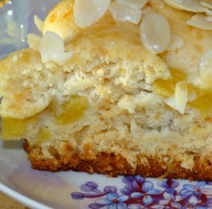 Медовый торт с манго быстрого приготовления в мультиварке-шаг 1