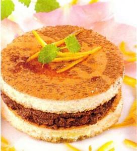 Шоколадные пирожные с апельсиновой цедрой готовятся проще простого!