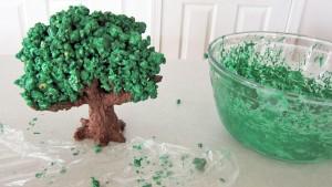 3D торт Сказочный сад - мастер-класс-шаг 7