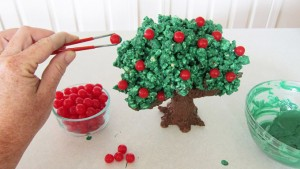 3D торт Сказочный сад - мастер-класс-шаг 8