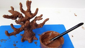 3D торт Сказочный сад - мастер-класс-шаг 5