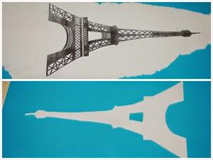 Украшения из мастики – Эйфелевая башня. Мастер-класс-шаг 2