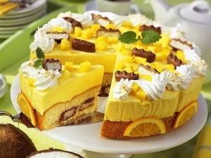Масляный крем с манго для выпечки