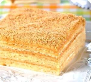 Торт Наполеон на пиве – простой рецепт приготовления