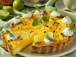 Масляный крем с манго для выпечки-ifu 1