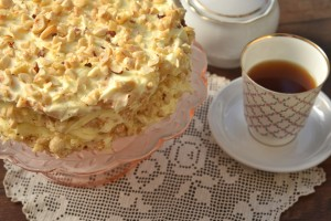 Сливочный крем с фисташками для тортов и пирожных