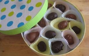 Шоколадные пирожные. Пирожные Пасхальные яйца – мастер-класс-шаг 11