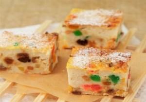 Торт с цукатами в мультиварке. Торт на кефире