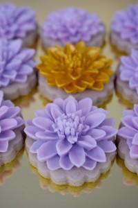 Украшения из мастики Весеннее настроение или как я украшала печенье-шаг 4