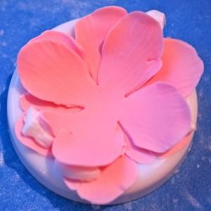 Цветы из мастики – мастер-класс. Делаем цветок анемона из мастики-шаг 6