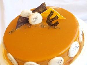 Карамельная глазурь с медом для тортов и пирожных – 2 варианта-ifu 1