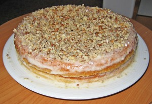 Бисквитный торт в мультиварке. Торт с банановым кремом