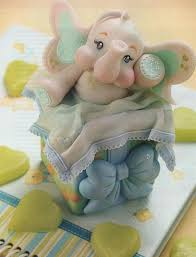 Животные из мастики. Видео-рецепт – слоненок из мастики-шаг 2