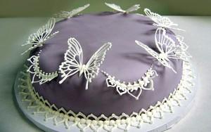 Бабочки из айсинга – видео-рецепт. Украшения из айсинга-шаг 1