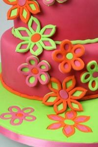 Как украсить торт мастикой – Весенние мотивы-шаг 4