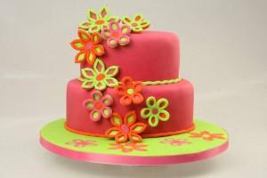 Как украсить торт мастикой – Весенние мотивы-шаг 5