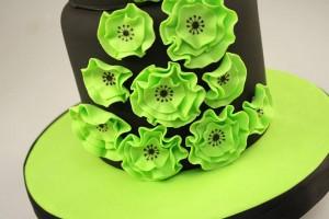 Как украсить торт мастикой – Весенние мотивы