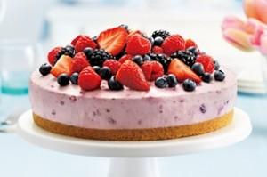 Творожно-фруктовый крем для бисквитного торта-шаг 1