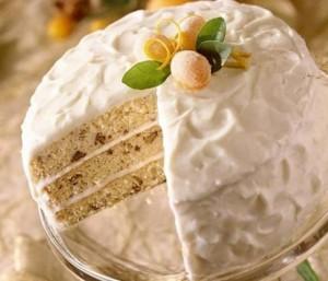 Сливочный крем с желатином для тортов и пирожных