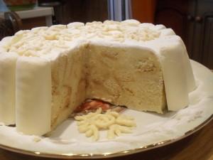Торт-мороженое «Пломбирный»-шаг 1
