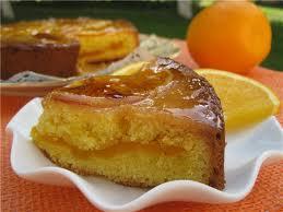 Торт с апельсиновым кремом по-английски