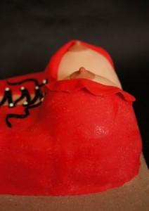 Торт для взрослых +18. Торт из мастики Женская грудь-шаг 5