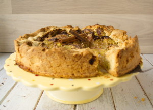 Торт с ревенем – настоящий весенний десерт!