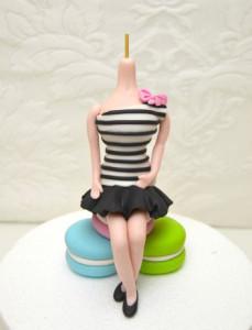Обтяжка торта мастикой. Как покрыть торт мастикой правильно-шаг 16