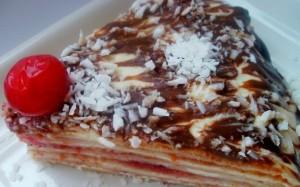 Блинный торт с творожным кремом-шаг 1