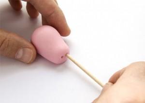 Животные из мастики – Свинка Пеппа-шаг 8