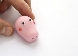 Животные из мастики – Свинка Пеппа-шаг 12